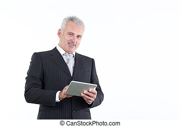zakenman, volwassene