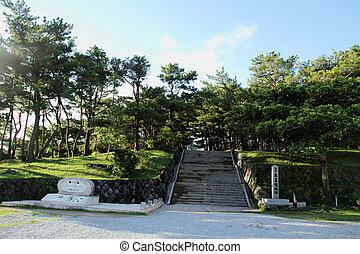 Zakimi castle in Okinawa