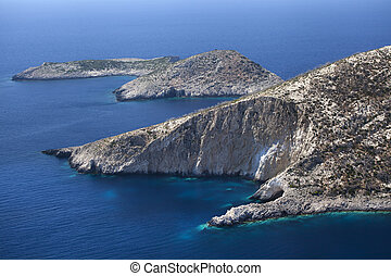Zakynthos coast view