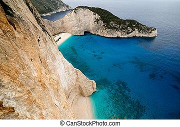 Zakynthos Shipwreck Beach