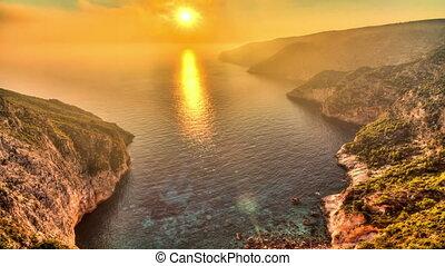 Zakynthos sunset timelapse