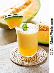 zalamero, melón cantalupo