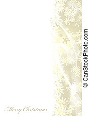 zalige kerst, goud