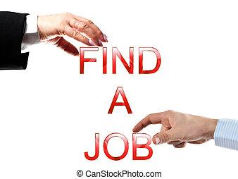 zaměstnání, nález, rozmluvy