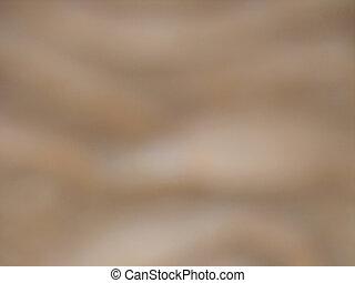 zamazany, brązowy