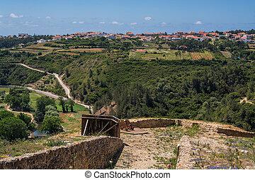 zambujal fort Ericeira Portugal.