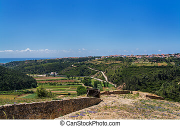 zambujal fort Ericeira Portugal.