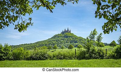 zamek, hohenzollern