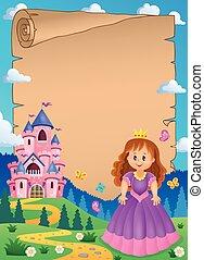 zamek, księżna, 2, pergamin