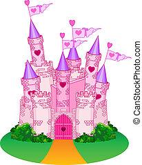 zamek, księżna
