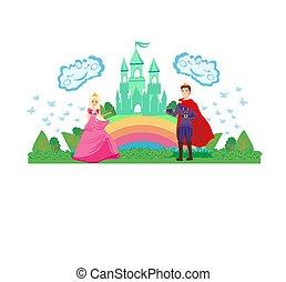 zamek, magia, książę, księżna