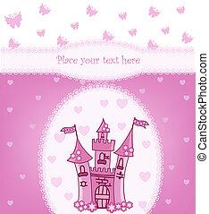 zamek, magia, księżna, karta
