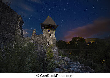 zamek, nevitsky, gruzy