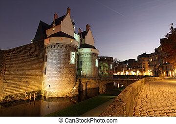zamek, od, przedimek określony przed rzeczownikami, diucy,...