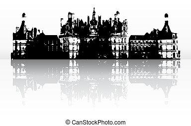 zamek, stary