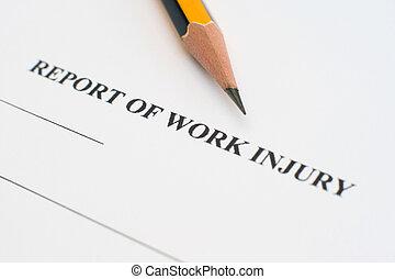 zameldować, krzywda, praca