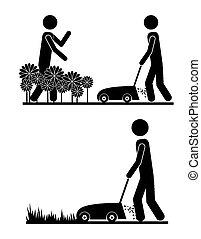 zamiar ogrodu