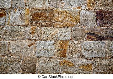 Zamora muralla fortress wall in Spain by Via de la Plata way...