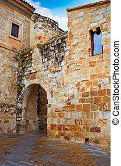 Zamora Obispo arch door near Cathedral Spain - Zamora Obispo...