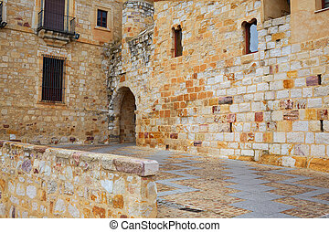 Zamora Puerta del Obispo door in Spain by Via de la Plata ...