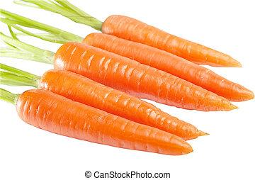 zanahoria, aislado