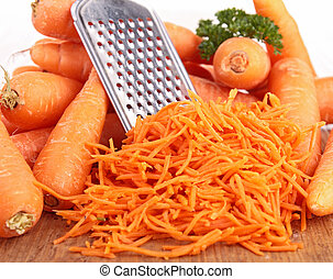 zanahoria, rallado