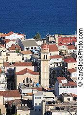 Zante town Zakynthos - View of Zante town on Zakynthos...