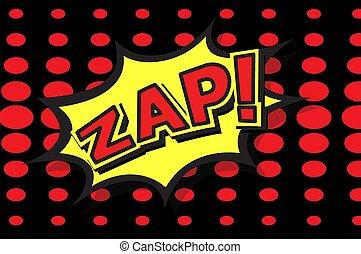zap - Comic Expression illustration Text