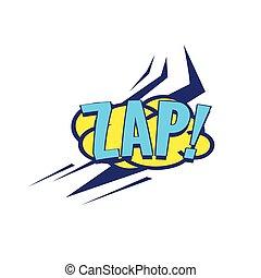 Zap Comic Speech Bubble