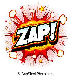 Zap illustration
