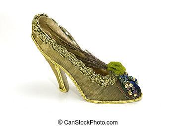 zapato alto tacón