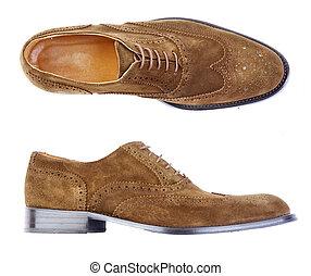 zapato, hombre