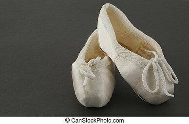 zapatos de ballet, diminuto