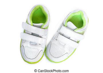 zapatos del deporte, niño