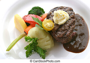 zartes lendenstück, steak