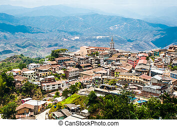 Zaruma - Town in the Andes, Ecuador. Located in the southern...