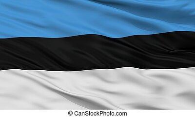 Zastava Pv City Flag, Montenegro, Closeup View - Zastava Pv...