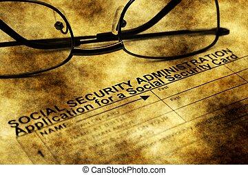zastosowanie, bezpieczeństwo, karta, towarzyski