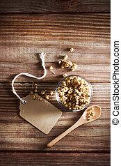 zasuszony, chamomile herbata