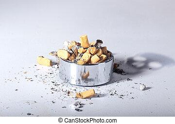 zatrzymywać, palenie