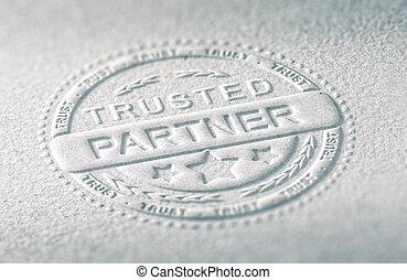 zaufanie, handlowy