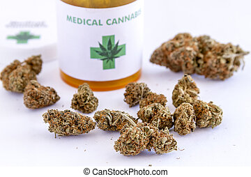 zawiązki, medyczny, posiew, marihuana