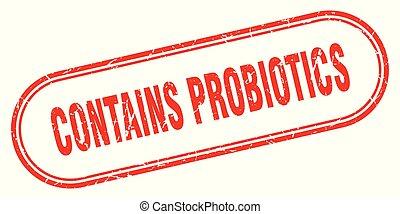 zawiera, probiotics