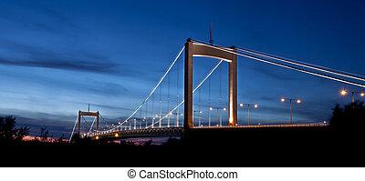 zawieszenie, szwecja, most