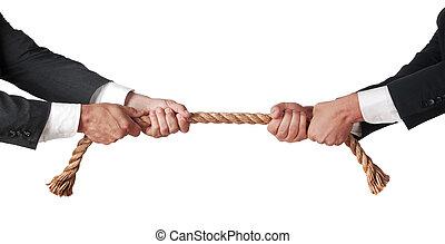zawody w przeciąganiu liny