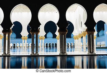 zayed, 首長, モスク, dhabi, uae, abu