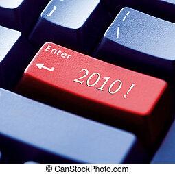 zaznamenat, do, ta, nový rok, 2010, pojem