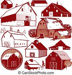 zbiór, stodoła