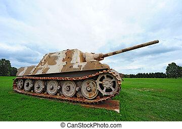 zbiornik, pantera, niemiec, ii, świat, wojna