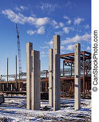 zbudowanie, handlowa budowa